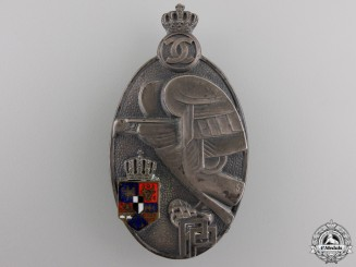 A Romanian Military Academy Graduate Badge