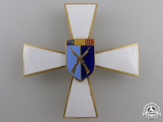 A Romanian Officer's Tintasul Regimental Badge