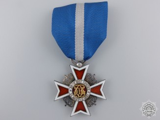 Romania, Kingdom. An Order of the Crown, V Class Knight, c.1940