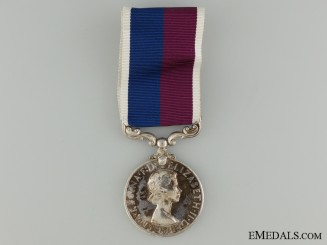 A Royal Air Force Good Conduct & Long Service Medal