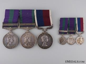 A Royal Air Force & Long Service Medal Group for Malaya