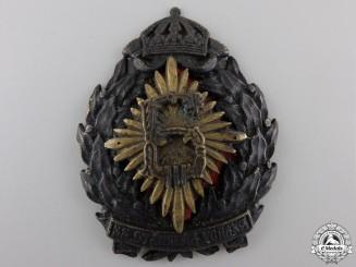 Bulgaria, Kingdom. A Royal Military Badge for Excellence; Tsar Boris III, c.1920