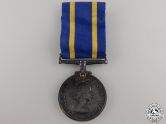 A Royal Canadian Mounted Police Long Service Medal