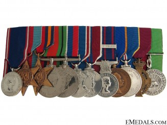A Royal Family Service Medal Group