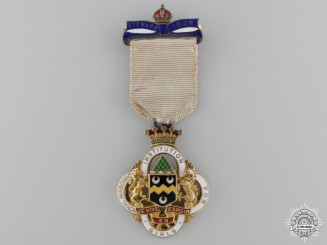 A Royal Masonic Institution for Girls (RMIG) Silver Stewards Jewel