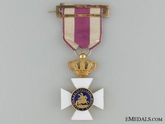 A Royal Military Order of Saint Hermenegildo in Gold