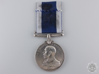 United Kingdom. A Royal Naval Long Service & Good Conduct Medal, H.M.S. Vivid
