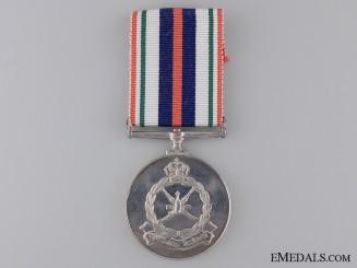A Royal Omani Police Bravery Medal