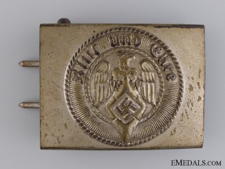 A RZM Marked HJ Members Belt Buckle