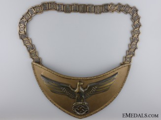 A SA Political Leader's Gorget by Assmann