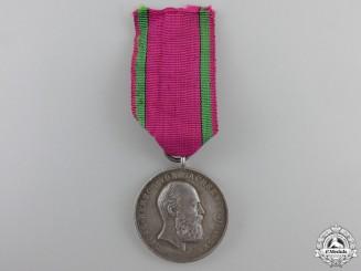 A Saxe-Ernestine House Order Merit Medal; Type V