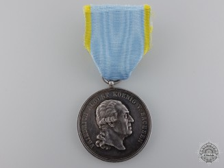 A Saxon Military Merit Medal; Order of St.Henry