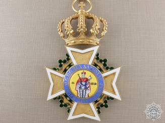 Saxony, Kingdom. A Military Order of St. Henry (1736-1917); Grand Cross in Gold