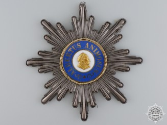Saxony, Kingdom. An Order of Albert, Grand Cross Star, c.1865