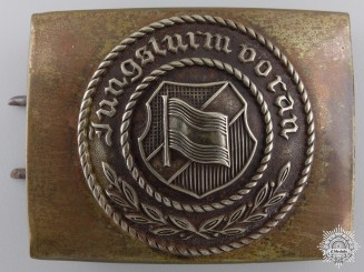 A Scarce 1920's German Communist Troops Buckle