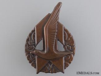 Netherlands. A Scarce Jeugdstorm Sports Badge; Boys Version