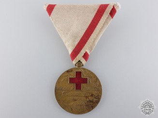 Montenegro, Kingdom. A Red Cross Medal