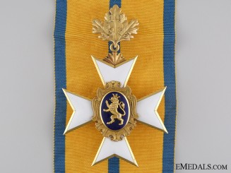 A Schwarzburg Sonderhausen Honour Cross First Class in Gold