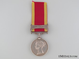 A Second China War Medal 1857-1860 to the Royal Marine Artillery
