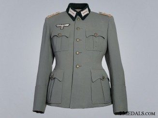 A Second War 25th Jäger Regiment Hauptmann's Dress Tunic  Consign: 6