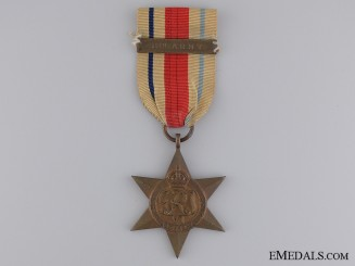 A Second War Africa Star; 8th Army Bar