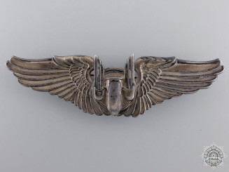 United States. An Air Force Aerial Gunner Badge, by Gemsco, c.1943