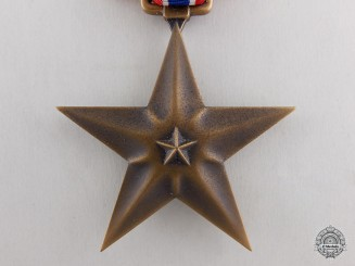 A Second War American Bronze Star