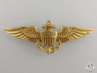 A Second War American Navy Pilot Wing by Vanguard