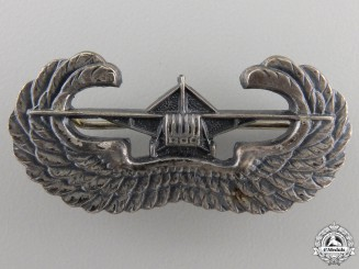 A Second War American Gliderborne Badge by Gaunt