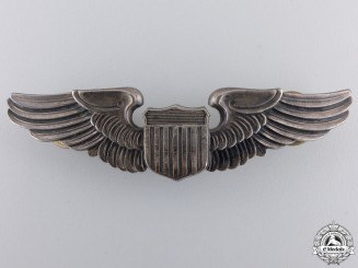 A Second War American Army Air Force Pilot Badge by Balfour