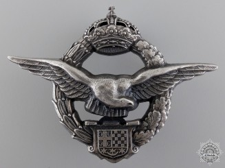 A Second War Army Air Service Pilot's Badge