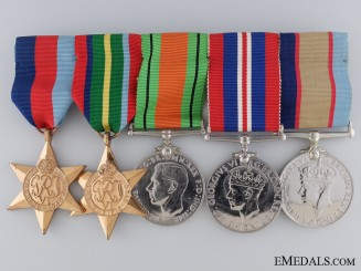 A Second War Australian Medal Group to J. Dub Scammell
