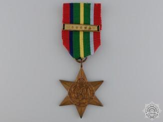 A Second War British Pacific Campaign Star; Burma Clasp