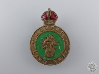 A Second War British Women's Land Army Badge