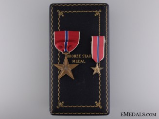 A Second War Bronze Star to Stewart M. Anderson