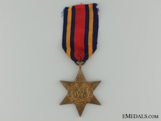 A Second War Burma Campaign Star