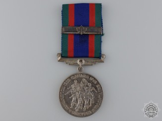 A Second War Canadian Volunteer Service Medal