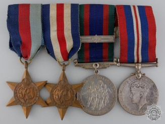 A Second War Canadian Medal Bar