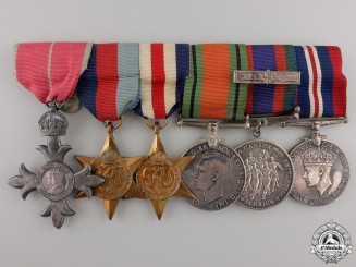 A Second War Canadian Order of the British Empire Group