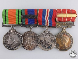 Canada, Commonwealth. A Second War & Forces Decoration Medal Group
