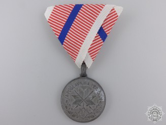 A Second War Croatian Single Wound Medal