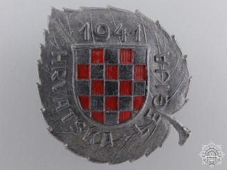 A Second War Croatian Legion Award