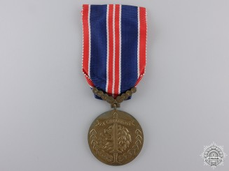 A Second War Czechoslovakian Bravery Medal 1939