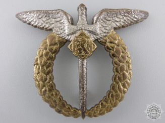 A Second War Czechoslovakian Air Force Badge