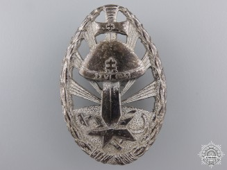 A Second War Eastern Front Service Badge of Honour