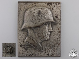 A Second War German Heer (Army) Plaque