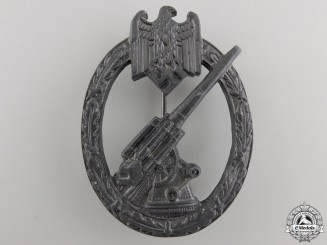 A Second War German Army Flak Badge