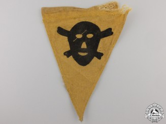 A Second War German Mine Warning Pennant