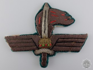 A Second War Hungarian War Correspondent Badge