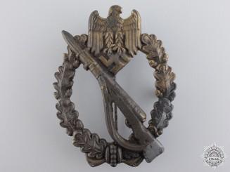 A Second War Infantry Badge; Bronze Grade